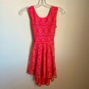 Gorgeous floral lace dress